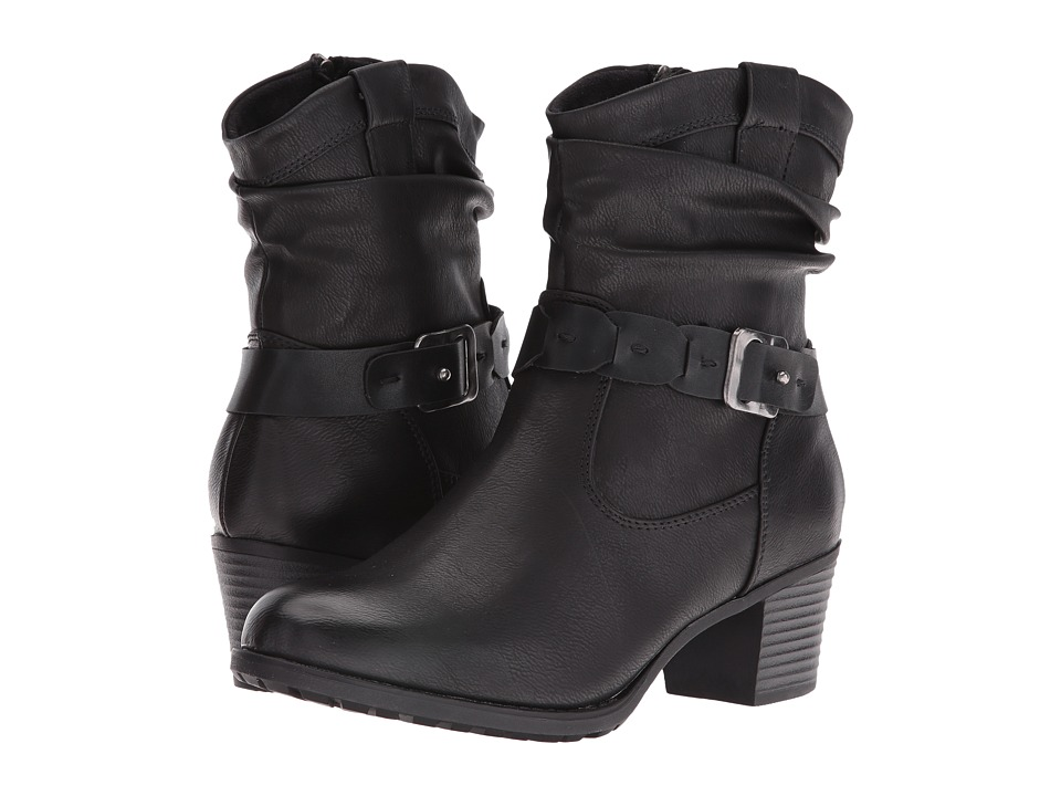 Spring Step - Biddy (Black) Women's Lace-up Boots