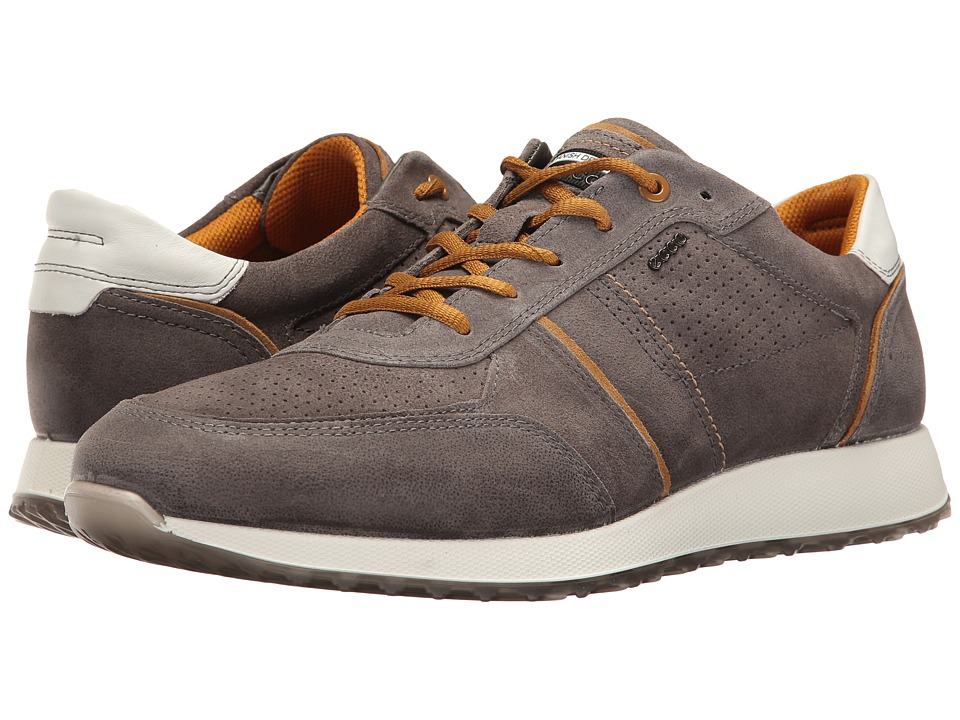 ECCO - Summer Sneak (Warm Grey/Dried Tobacco) Men's Lace up casual Shoes