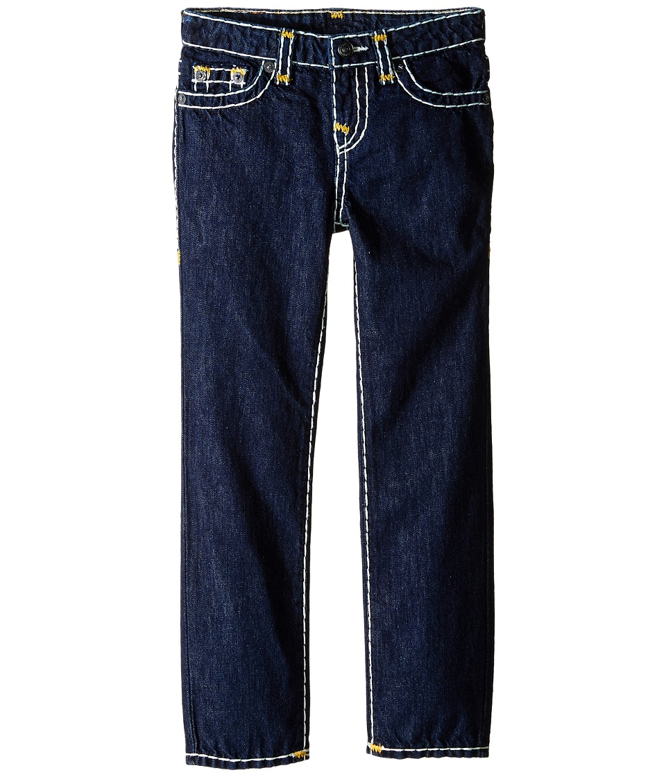 True Religion Kids - Geno Contrast Super T Jeans in Rinse/Gold (Toddler/Little Kids) (Rinse/Gold) Boy's Jeans