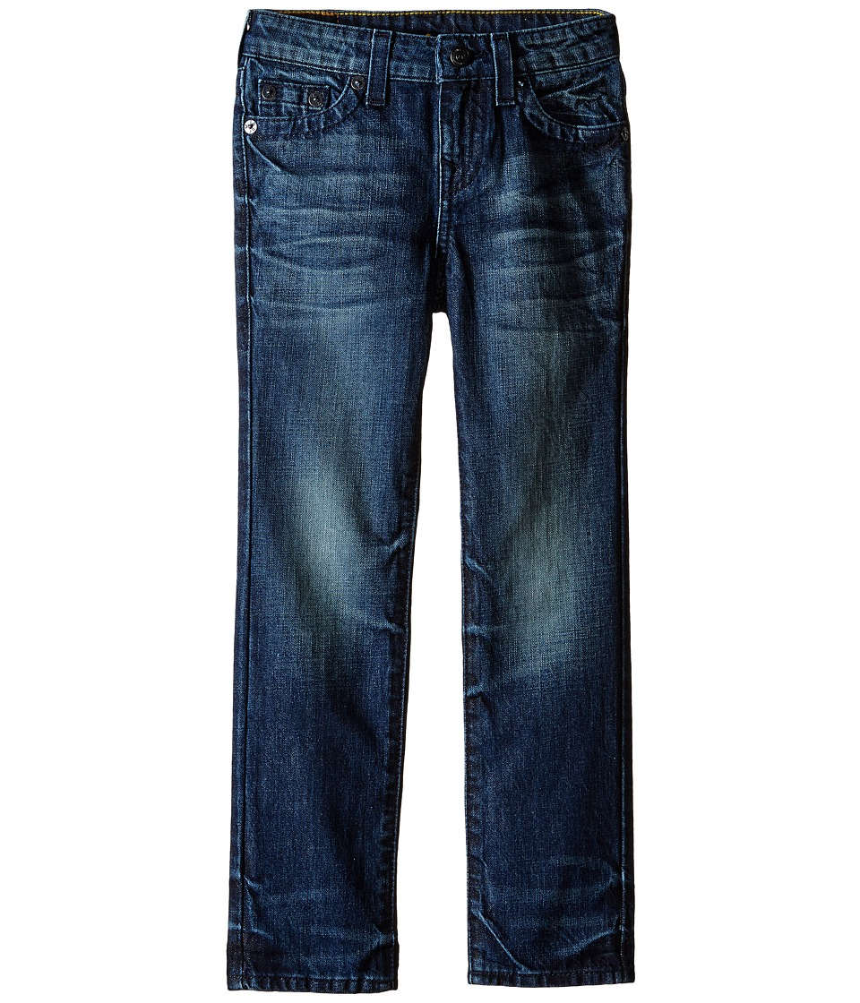 True Religion Kids - Fashion Geno Single End Jeans in Dresden Blue (Toddler/Little Kids) (Dresden Blue) Boy's Jeans