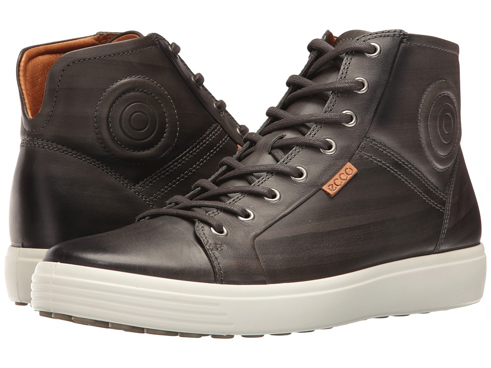 ECCO - Soft 7 Premium Boot (Deep Forest) Men's Lace-up Boots