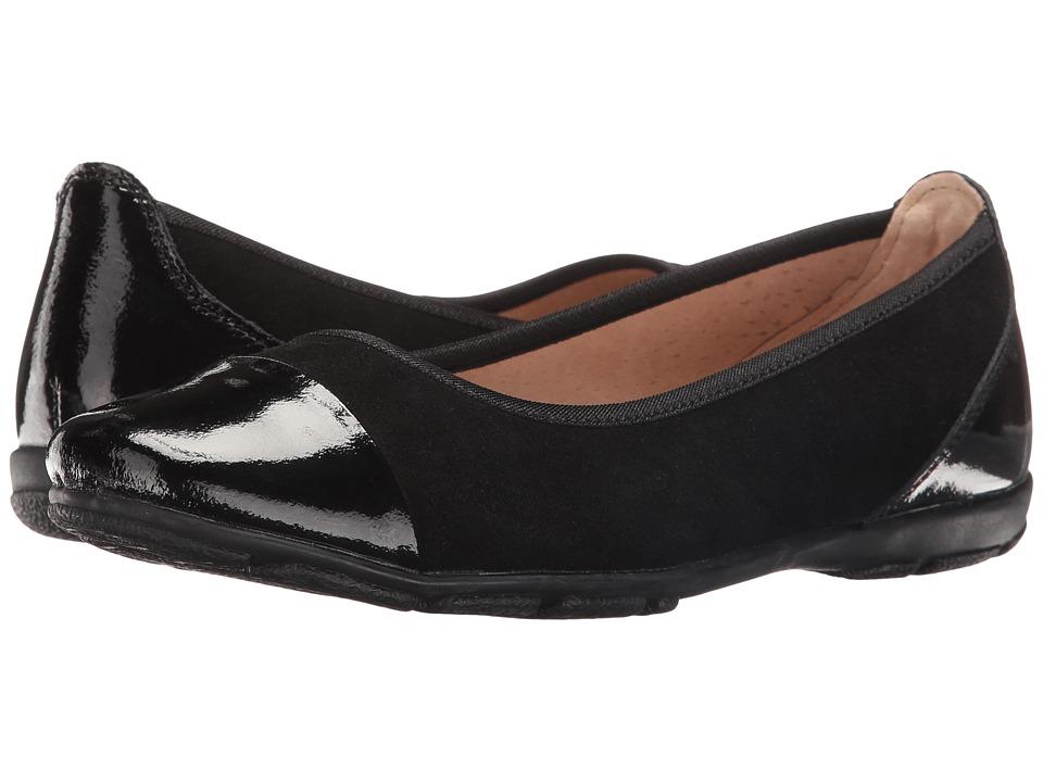 Spring Step - Yared (Black) Women's Slip on Shoes