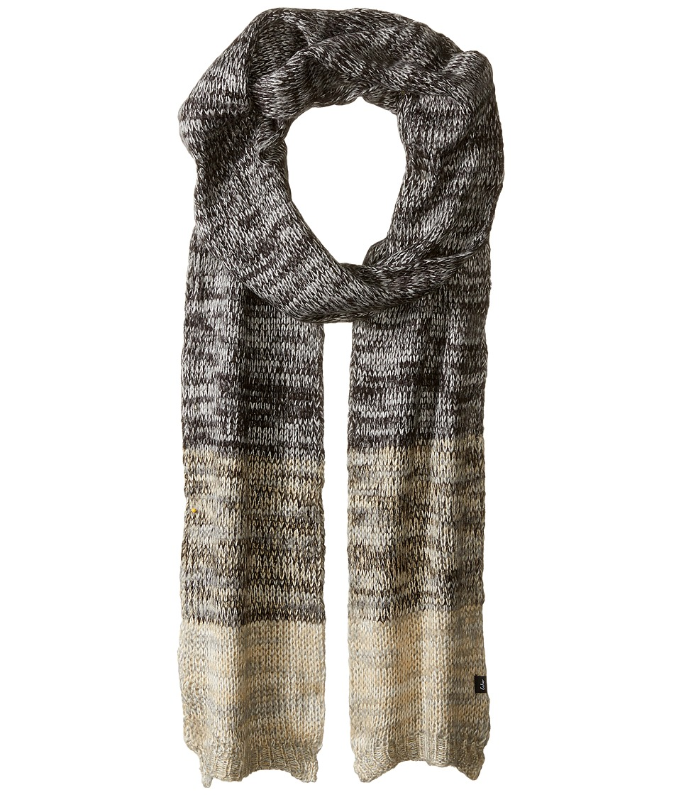 Echo Design - Marled Muffler (Black) Scarves