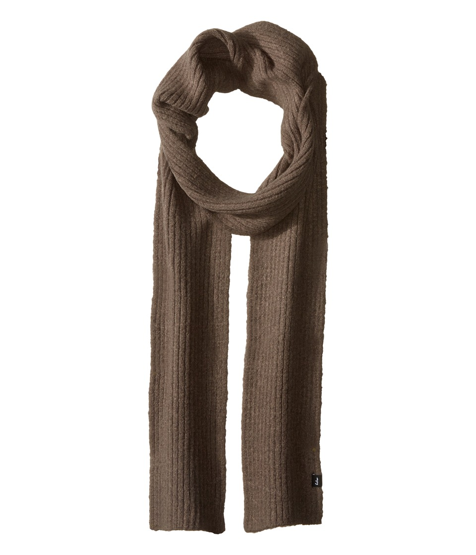 Echo Design - Stretch Fleece Muffler (Gunmetal) Scarves