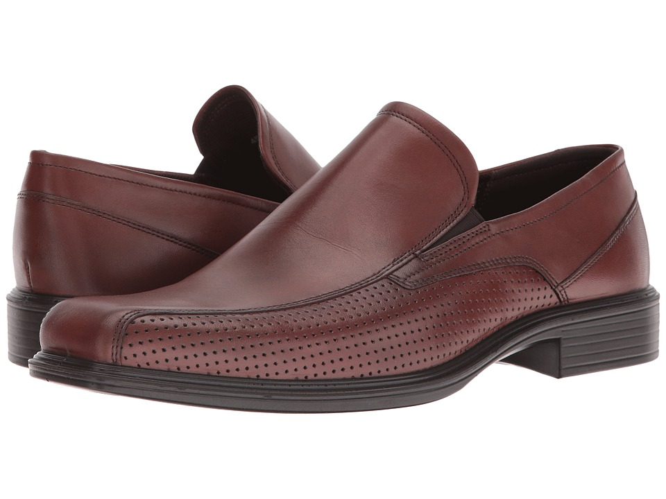ECCO - Johannesburg Slip-On (Mink) Men's Slip-on Dress Shoes