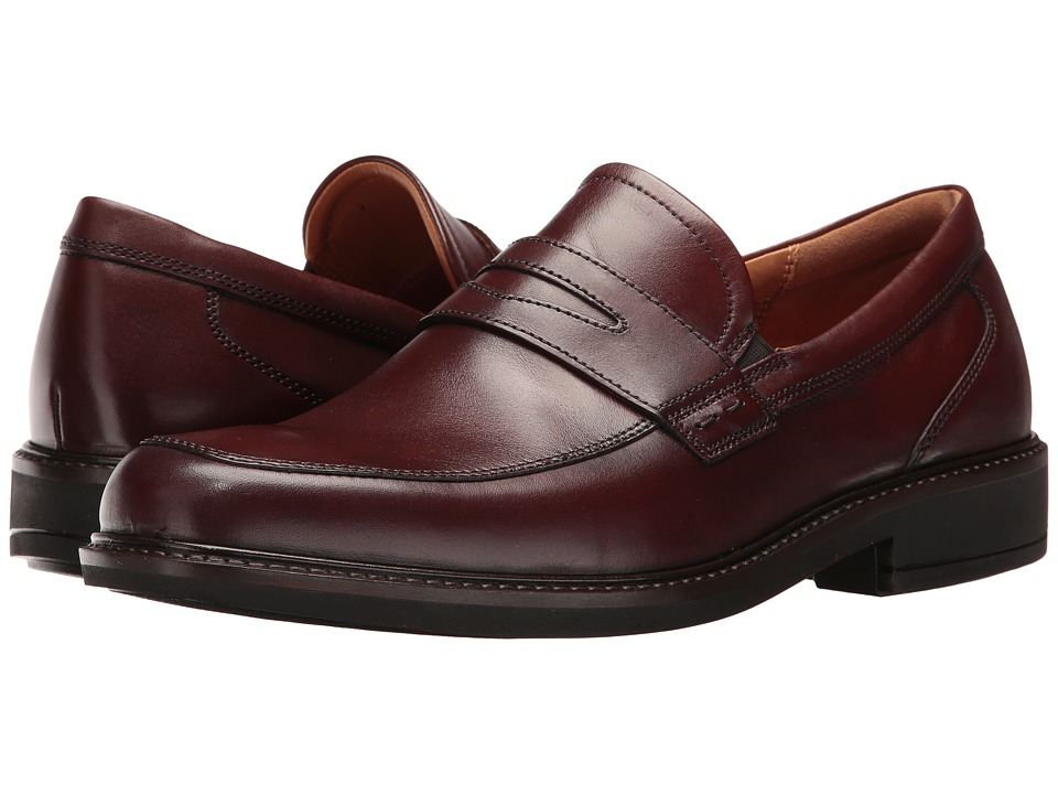 ECCO Holton Penny Loafer (Rust) Men