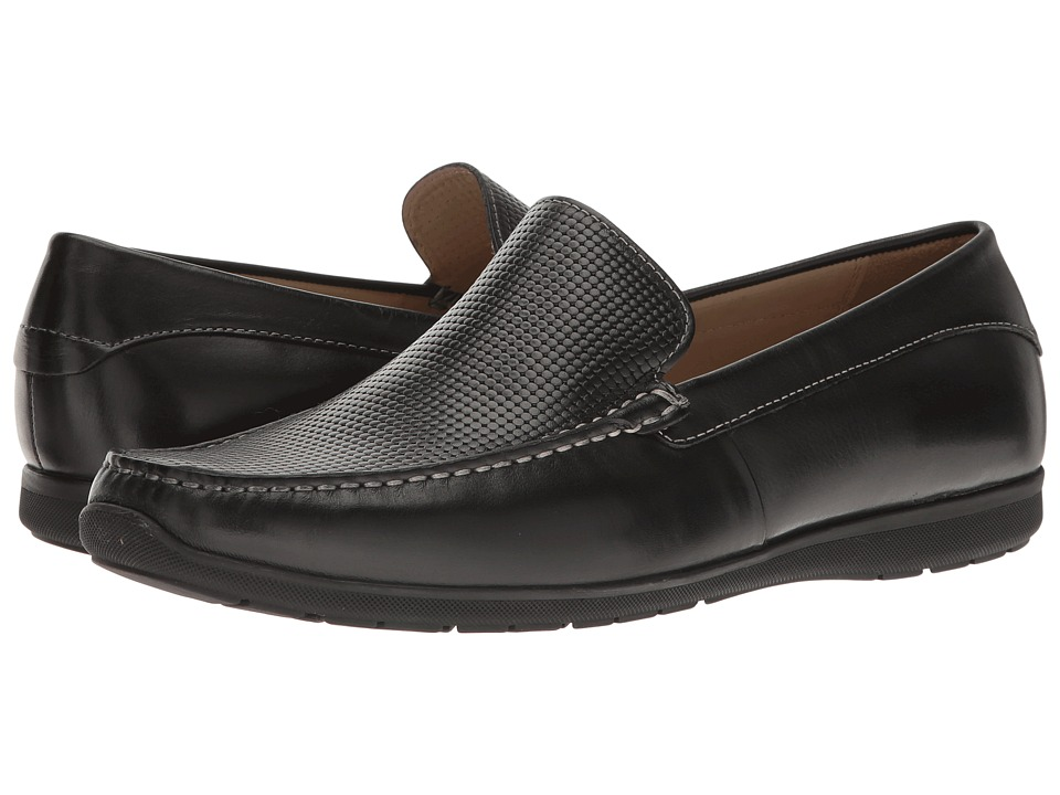 ECCO - Dallas Moc (Black/Black) Men's Slip-on Dress Shoes