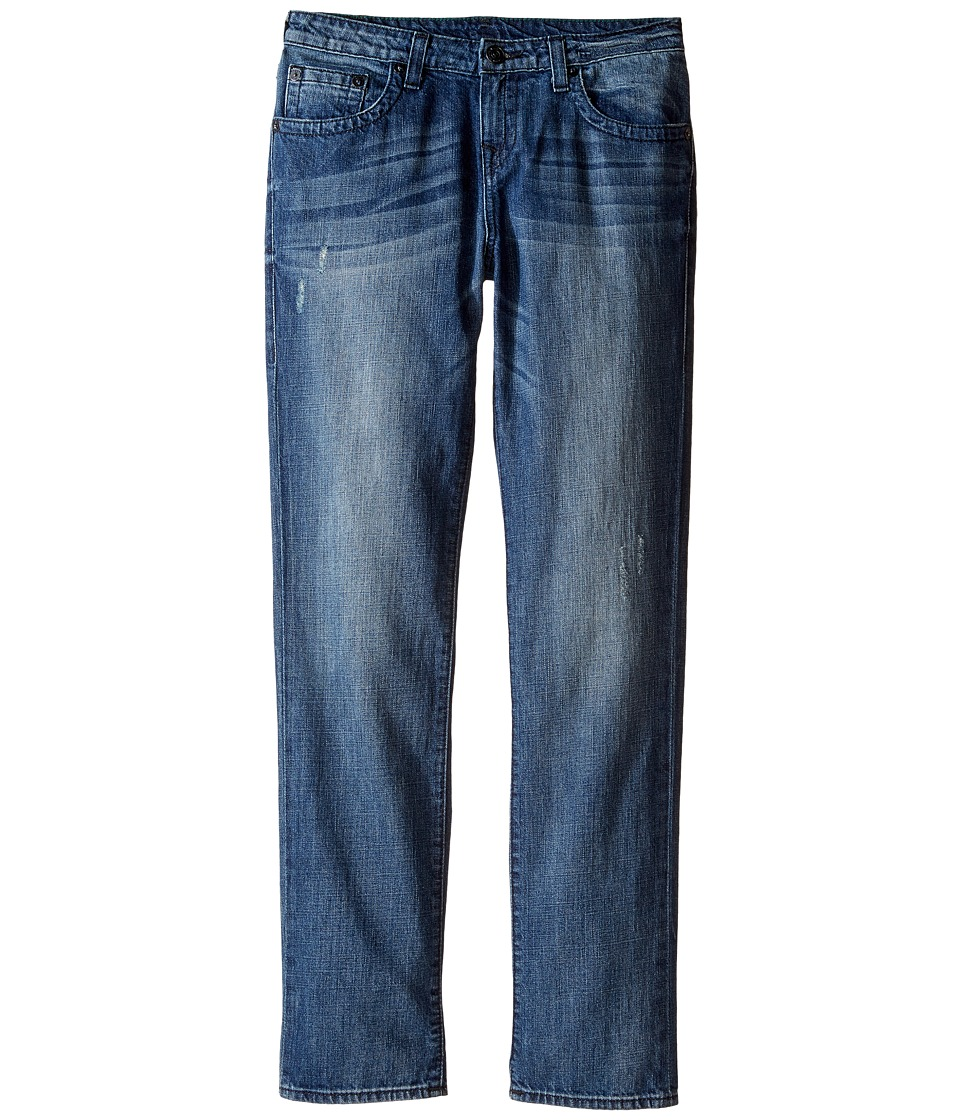 True Religion Kids - Fashion Geno Single End Jeans in Dark Destructed (Big Kids) (Dark Destructed) Boy's Jeans