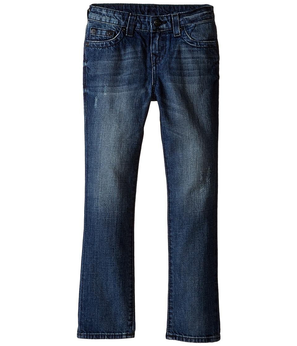 True Religion Kids - Fashion Geno Single End Jeans in Dark Destructed (Toddler/Little Kids) (Dark Destructed) Boy's Jeans