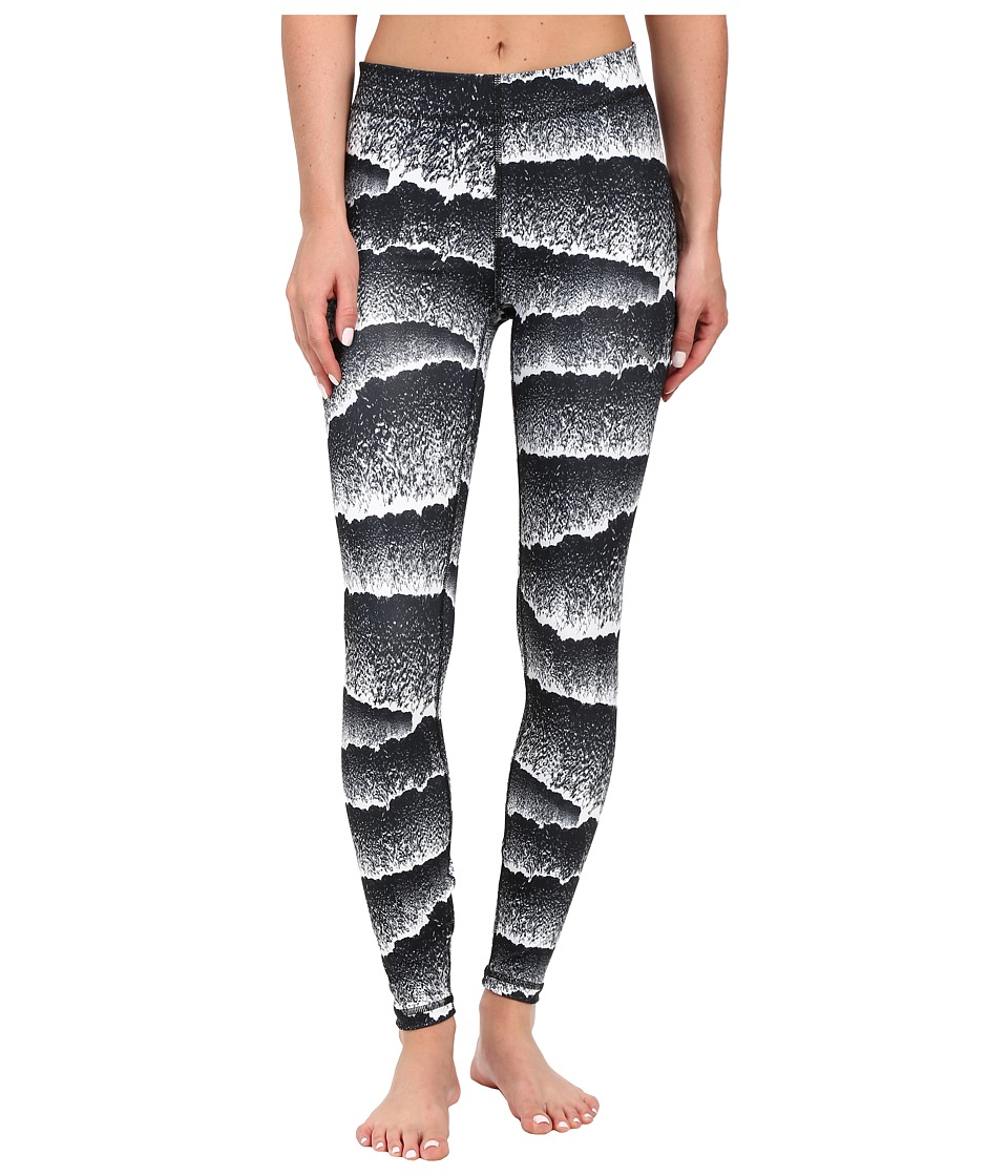 PUMA - All Eyes One Me Tights (White/Black) Women's Clothing