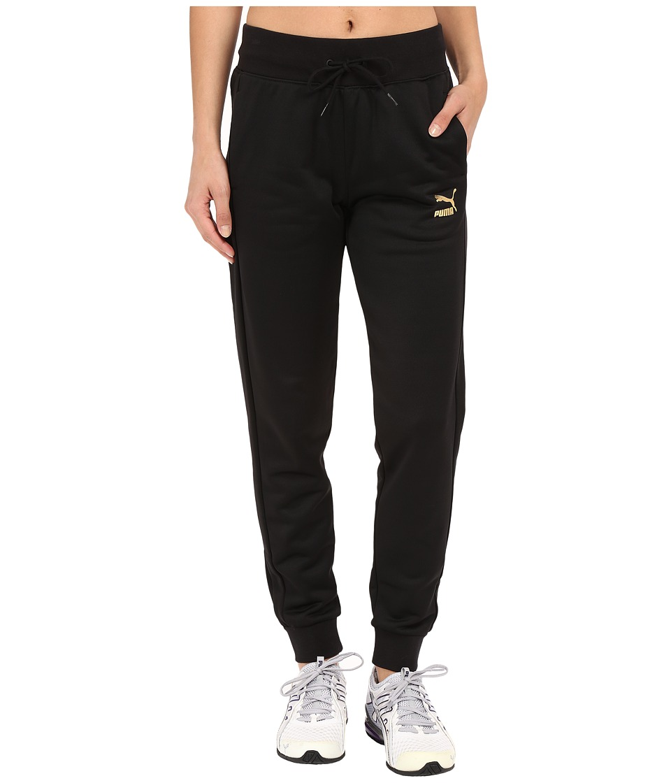 PUMA - No.1 Logo Sweatpants (Black) Women's Casual Pants