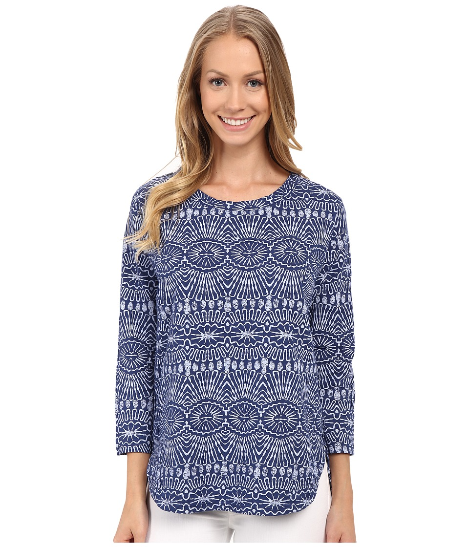 Fresh Produce - Tribal Catalina Top (Moonlight Blue) Women's Clothing