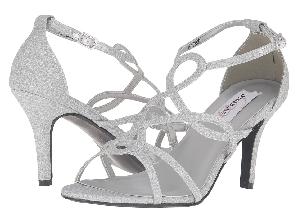 Touch Ups - Madison (Silver Glitter) Women's Shoes