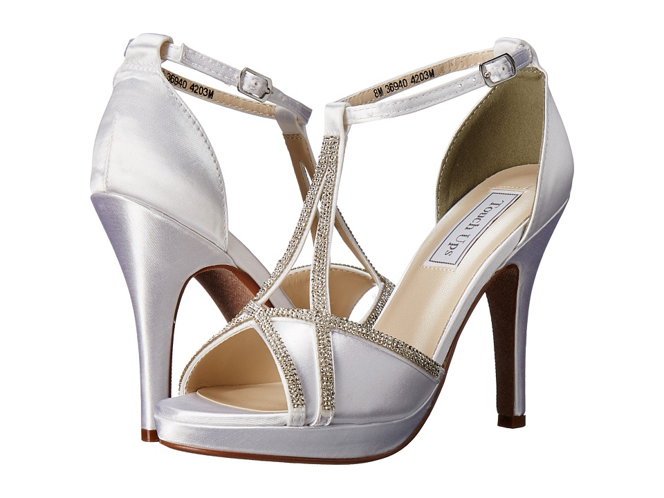 Touch Ups - Harlow (White Satin) Women's Shoes