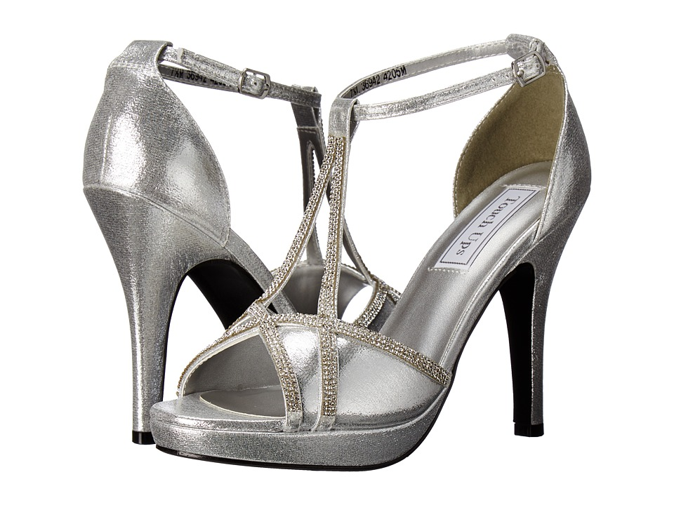 Touch Ups - Harlow (Silver Shimmer) Women's Shoes