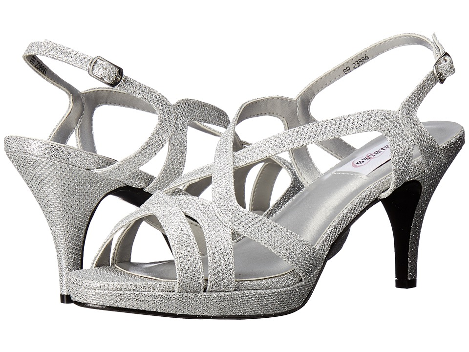 Touch Ups - Chloe (Silver Shimmer) Women's Shoes