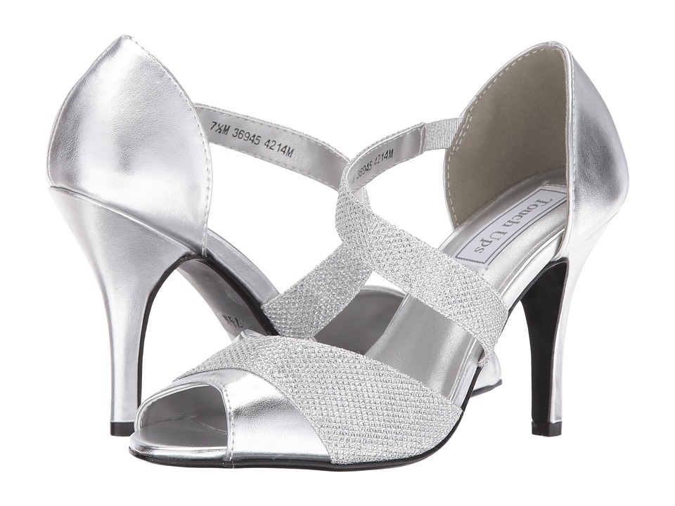 Touch Ups - Adeline (Silver Shimmer) Women's Shoes