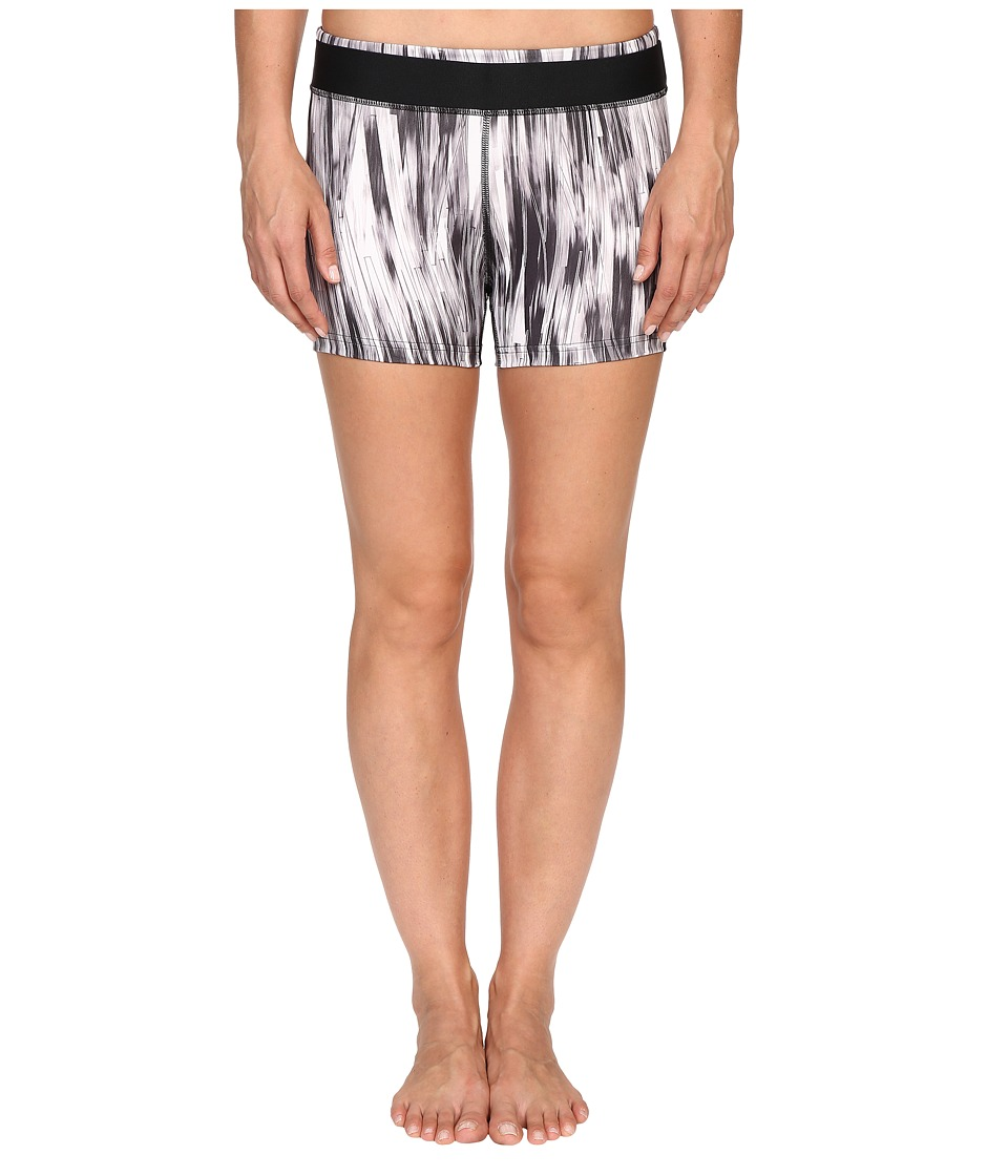 PUMA - All Eyes On Me Short Tights (Black/White) Women's Shorts