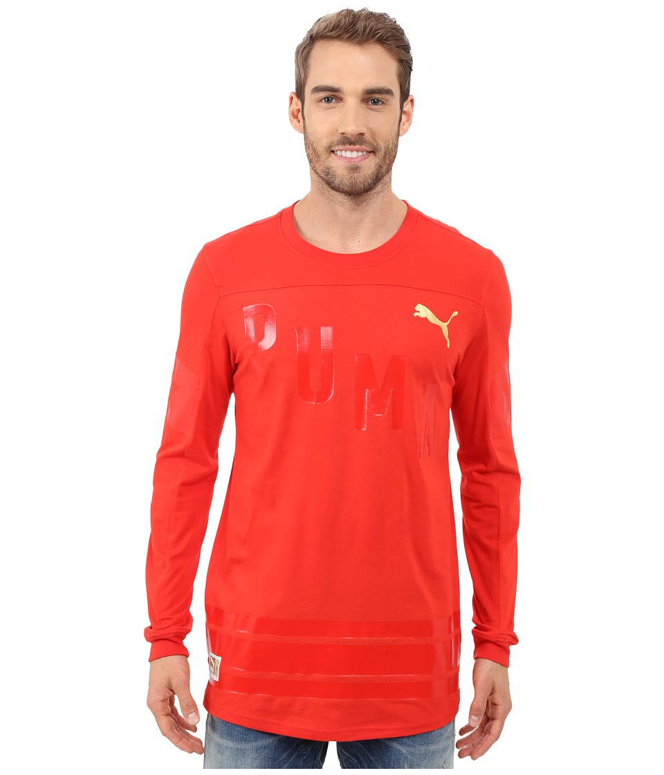 PUMA - Bardown Jersey (Puma Red) Men's Clothing