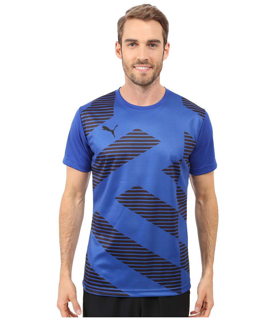 PUMA - Blocker T-Shirt (Surf The Web/Black) Men