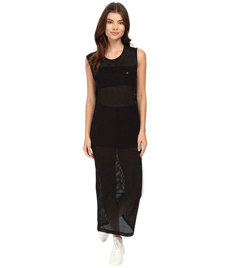 Diamond Supply Co. - Pavilion Mesh Maxi Dress (Black) Women's Dress