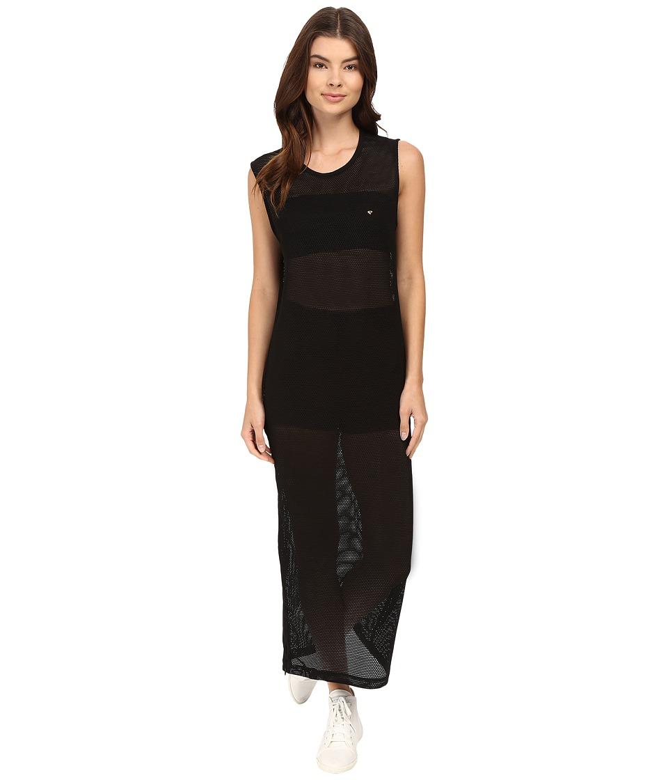 Diamond Supply Co. - Pavilion Mesh Maxi Dress (Black) Women's Dress