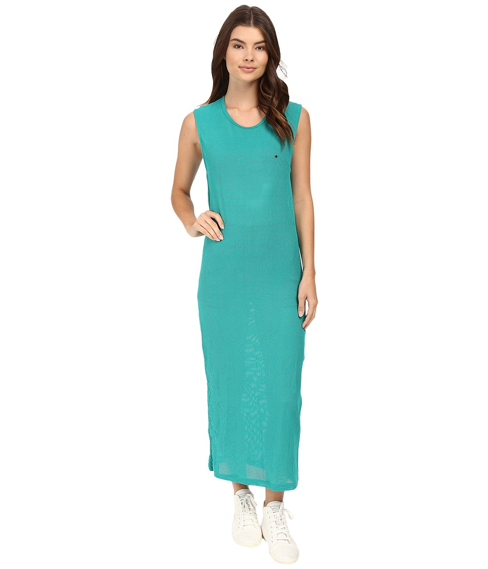 Diamond Supply Co. - Pavilion Mesh Maxi Dress (Turquoise) Women's Dress