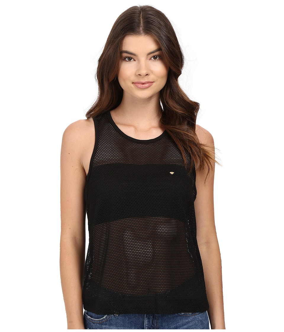 Diamond Supply Co. Pavilion Knit Tank Top (Black) Women