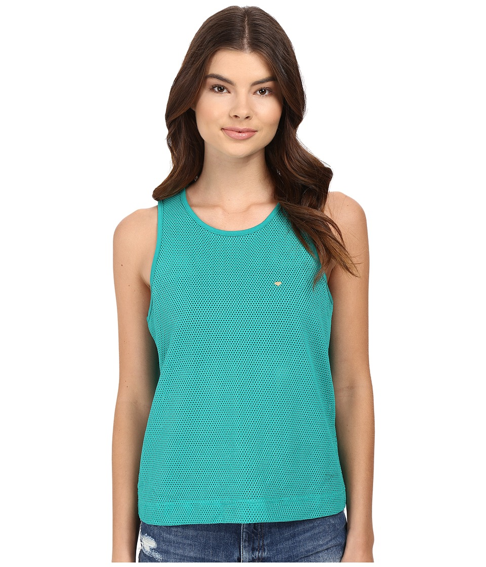 Diamond Supply Co. - Pavilion Knit Tank Top (Turquoise) Women's Sleeveless