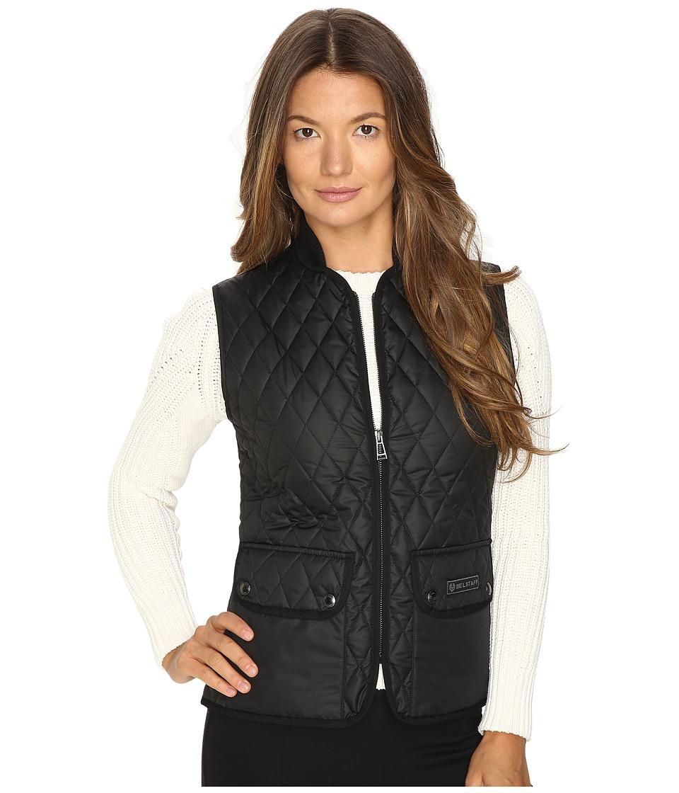 BELSTAFF - Wickford Lightweight Technical Quilt Vest (Black) Women's Vest