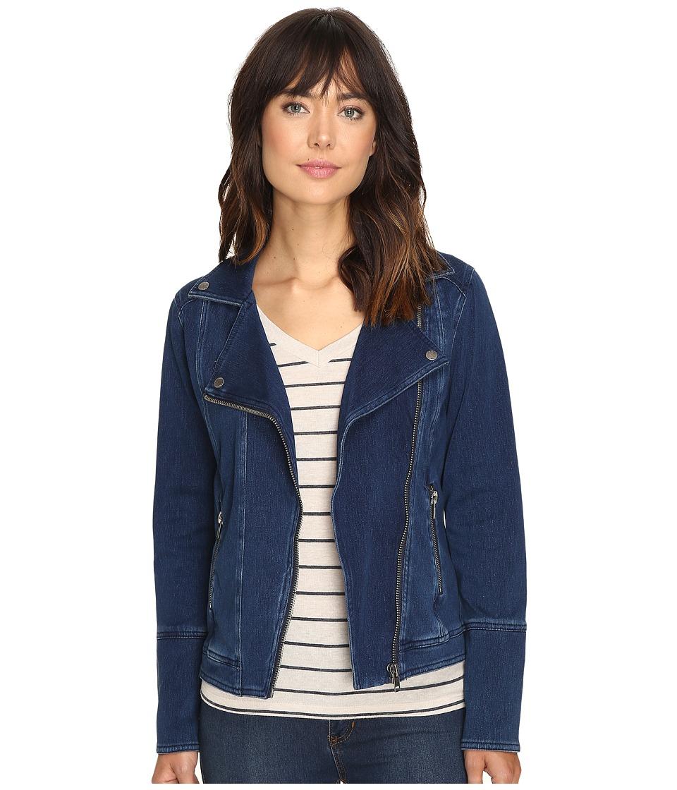 Liverpool Moto Asymmetrical Zip Jacket (Dark Americana) Women