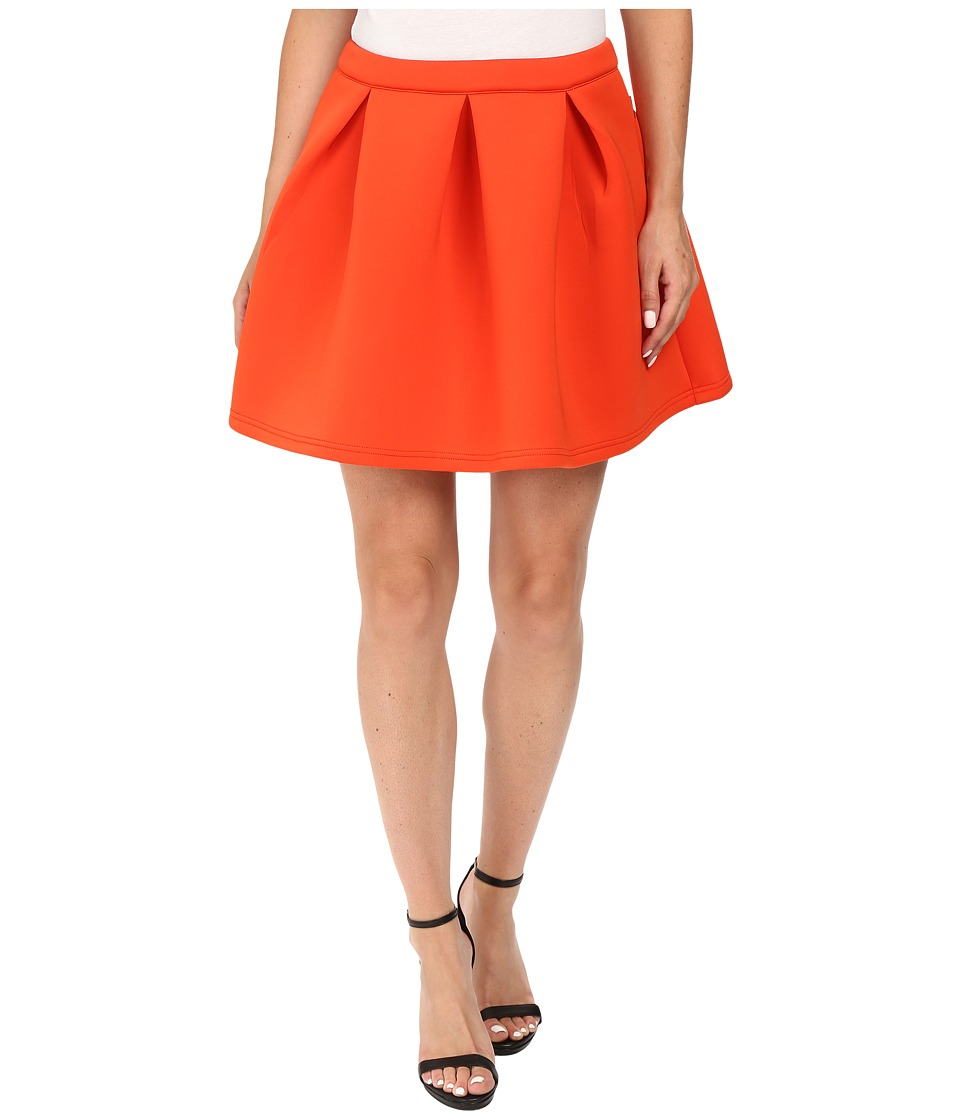 Diamond Supply Co. - Nuwave Mini Skirt (Orange) Women's Skirt