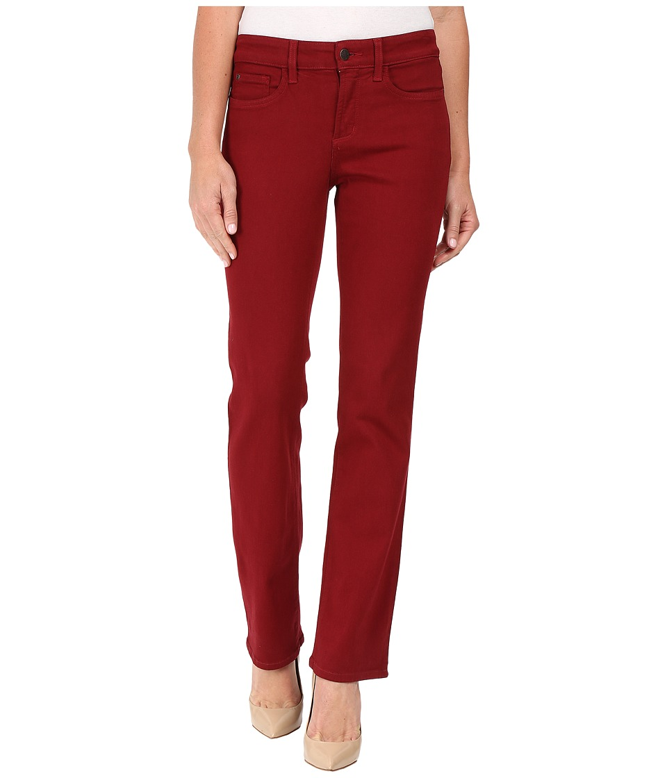 NYDJ - Marilyn Straight (Poinsettia) Women's Casual Pants