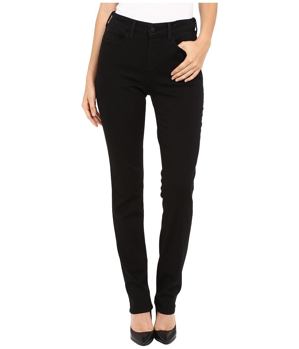 NYDJ - Samantha Slim Jeans in Luxury Touch Denim (Black) Women's Jeans