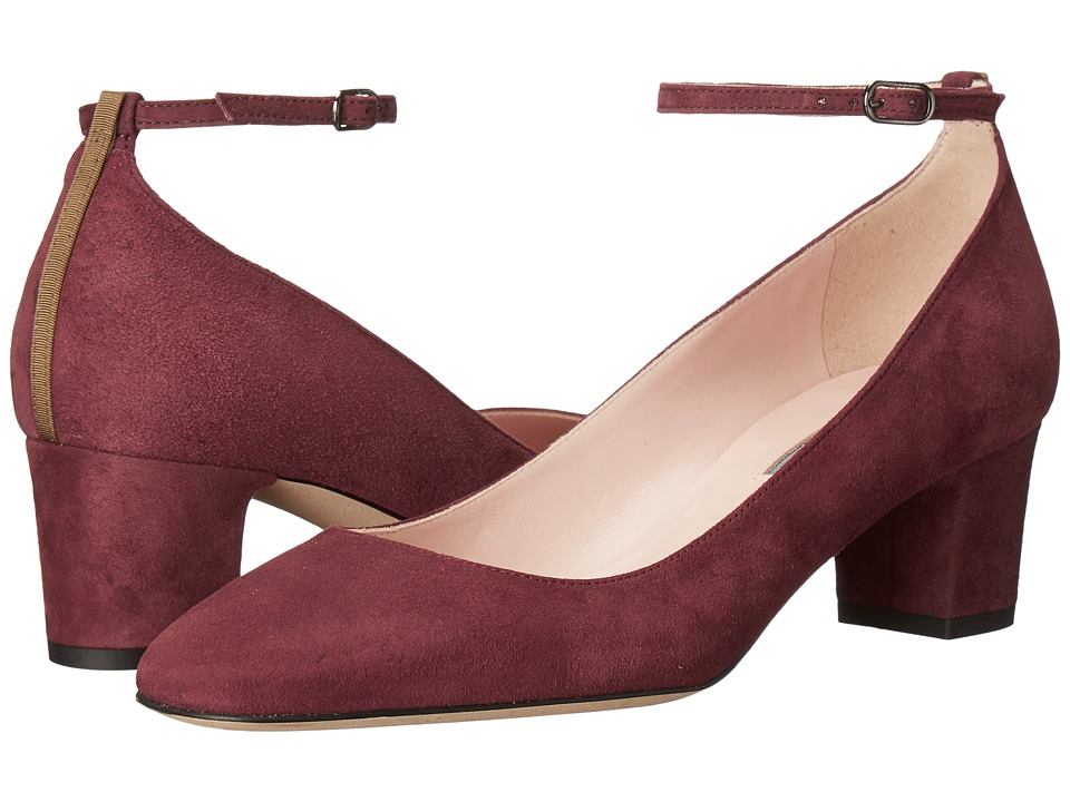 SJP by Sarah Jessica Parker - Ingenue (Balmoral Bordeaux Suede) Women's Shoes