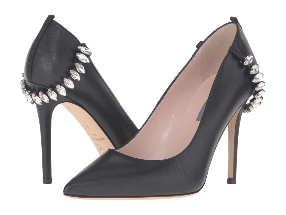 SJP by Sarah Jessica Parker - Libertine (Black Leather) Women's Shoes
