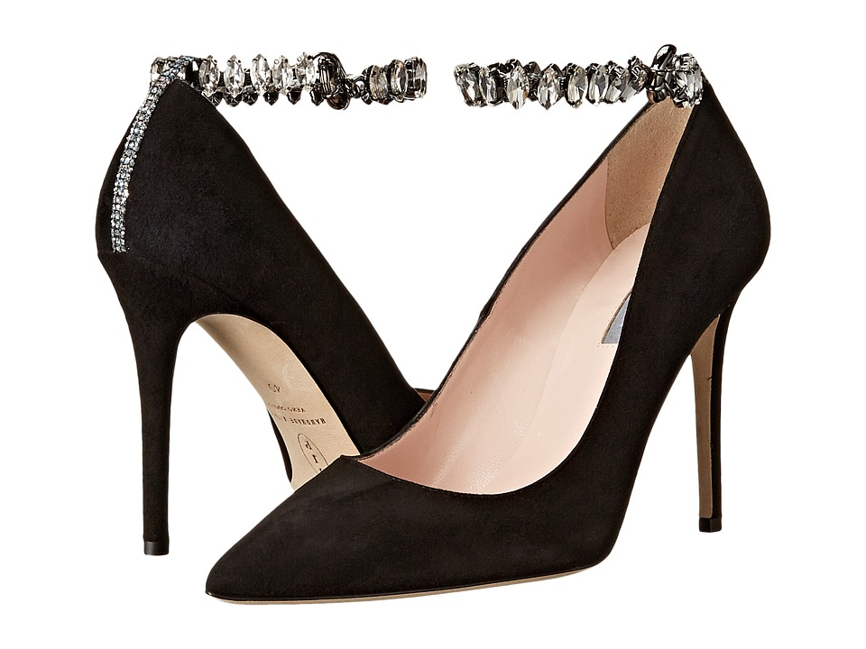 SJP by Sarah Jessica Parker - Lucid (Black Suede) Women's Shoes