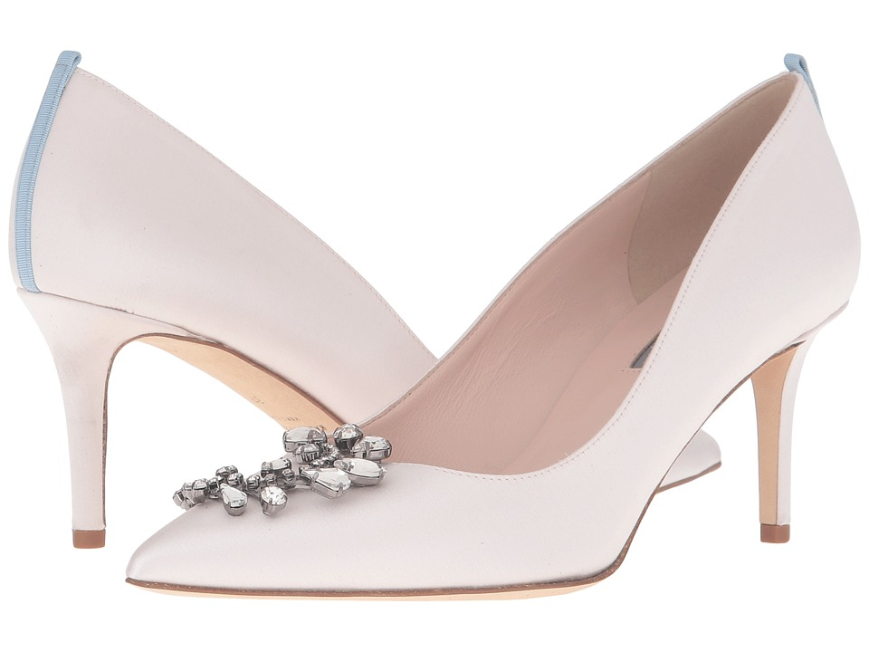 SJP by Sarah Jessica Parker - Medly (Moonstone Satin) Women's Shoes