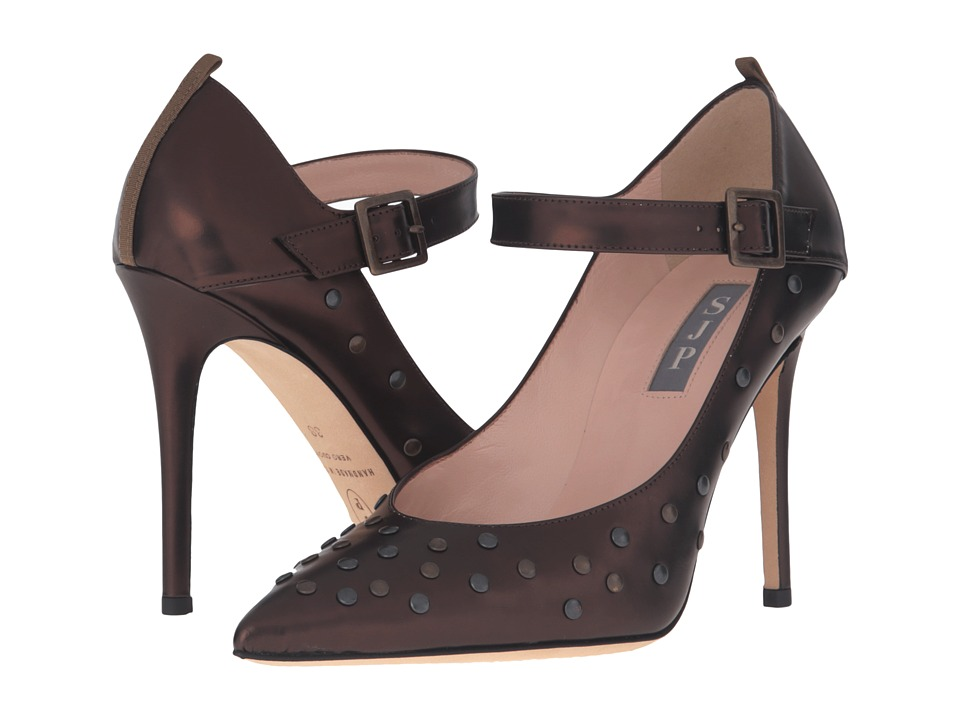 SJP by Sarah Jessica Parker Stride (Omni Bronze Patent) Women