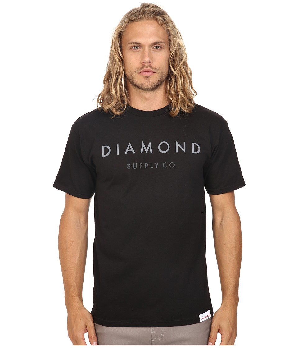 Diamond Supply Co. - Yacht Flag Tee (Black) Men's T Shirt