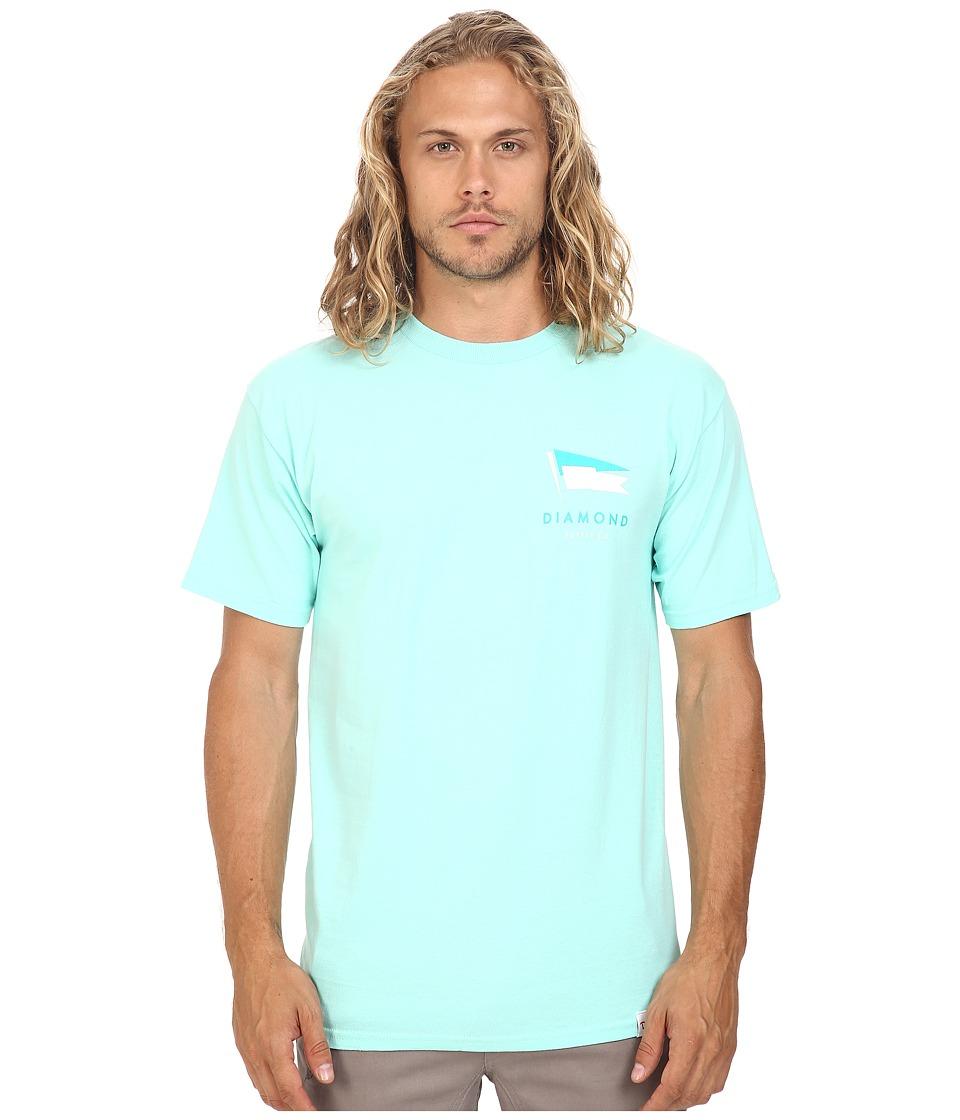 Diamond Supply Co. - Yacht Flag Tee (Diamond Blue) Men's T Shirt