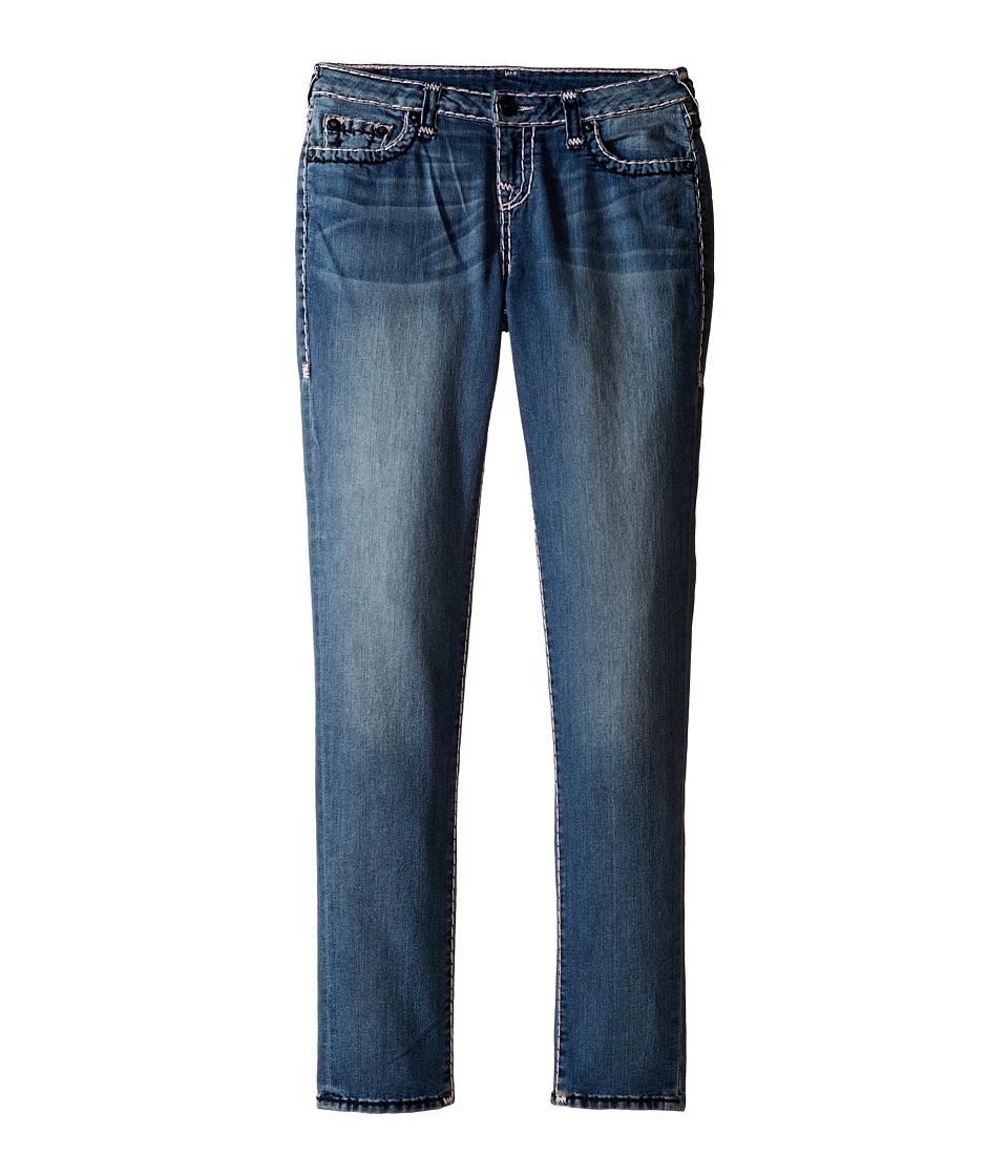 True Religion Kids - Casey Color Combo Super T Jeans in Diamond Wash (Big Kids) (Diamond Wash) Girl's Jeans