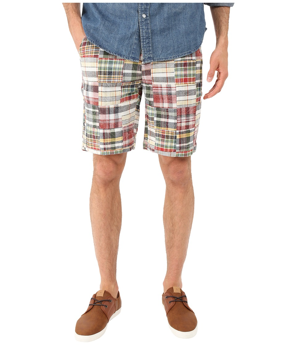 Vintage 1946 - Vintage Patch Madras Shorts (Charleston Brick) Men's Shorts