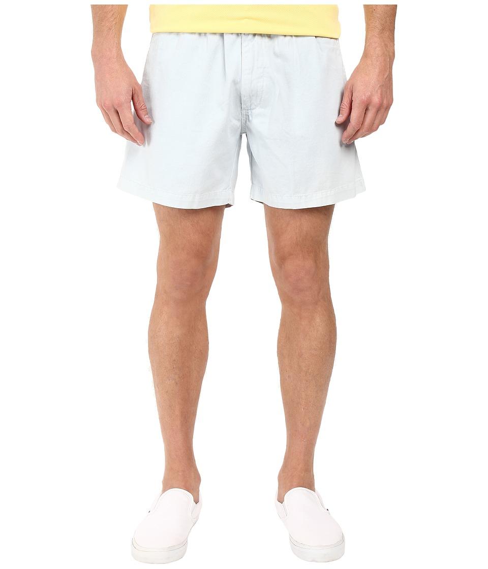 Vintage 1946 Snappers Vintage Washed Elastic Waistband Shorts (Sky) Men