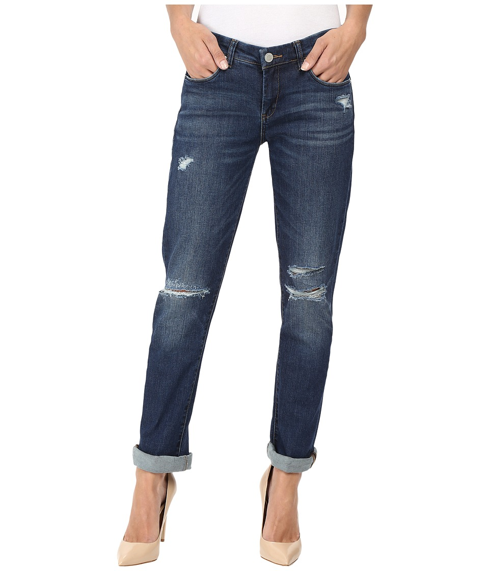 Blank NYC Denim Boyfriend Jeans in Shy Guy (Blue) Women