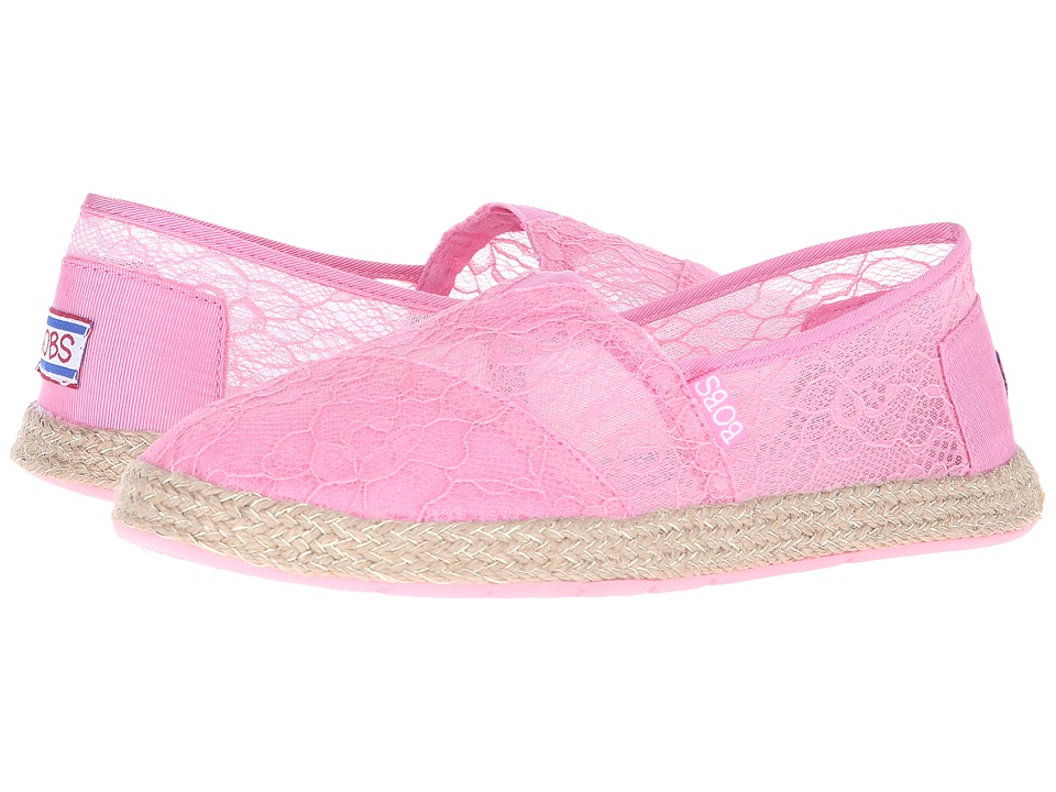 BOBS from SKECHERS Flexpadrille Sheer Luck (Pink) Women