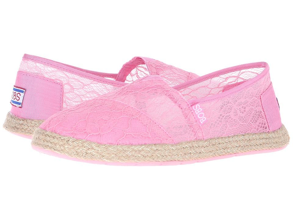 BOBS from SKECHERS - Flexpadrille - Sheer Luck (Pink) Women