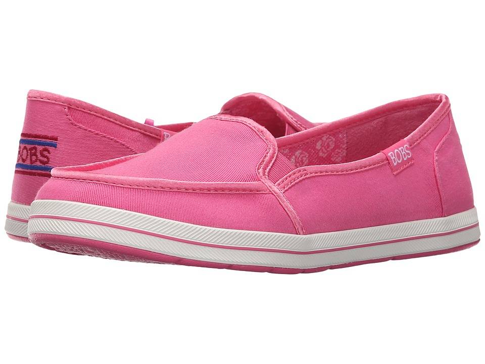 BOBS from SKECHERS - Bobs Flexy - Kick Start (Pink) Women's Slip on Shoes