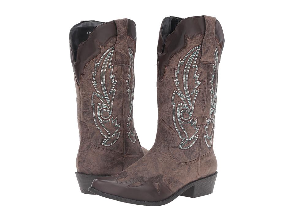 DOLCE by Mojo Moxy - Tuscon (Espresso) Women's Boots