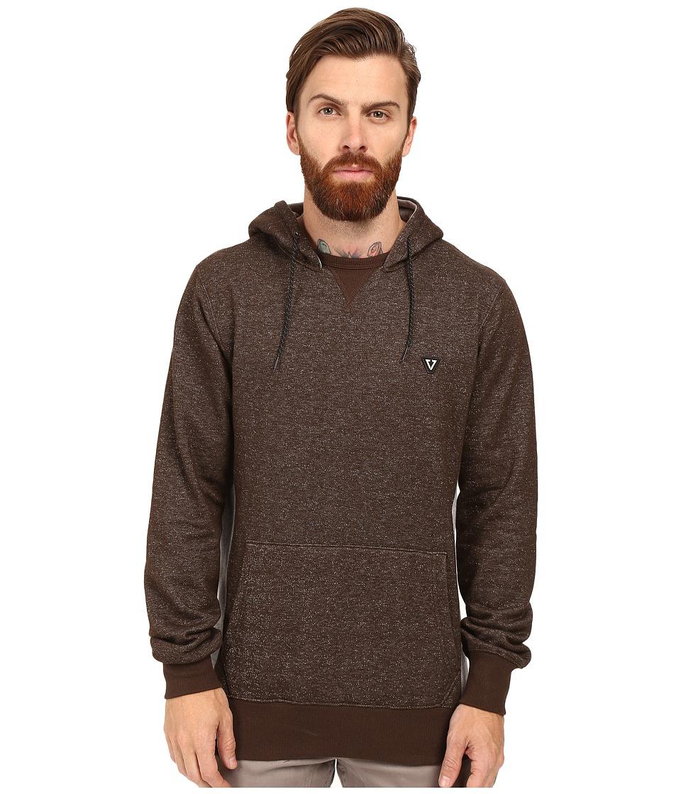 VISSLA - All Sevens Pullover Hoodie Fleece (Java) Men's Sweatshirt